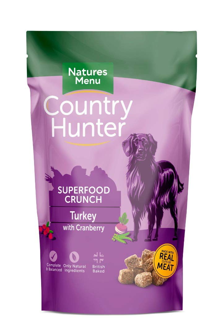 Natures Menu Country Hunter Superfood Crunch Duck with Plum