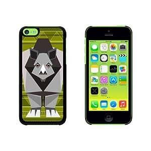 Geometric Rhinoceros Green Snap On Hard Protective For SamSung Galaxy S4 Mini Phone Case Cover - Black