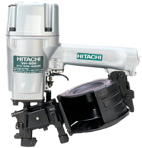 Hitachi VH650 Round Head 1-1/4-Inch to 2-1/2-Inch Coil Siding Nailer (Discontinued by Manufacturer)