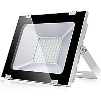Focos LED Exteriores 100W 8000LM Proyector led exterior de impermeable IP65 6500K Blanco Frío Luz de seguridad al aire…