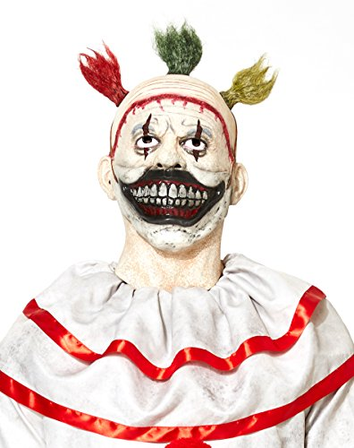 [Spirit Halloween Twisty The Clown Mask - American Horror Story: Freak Show] (Twisty The Clown Costume Mask)