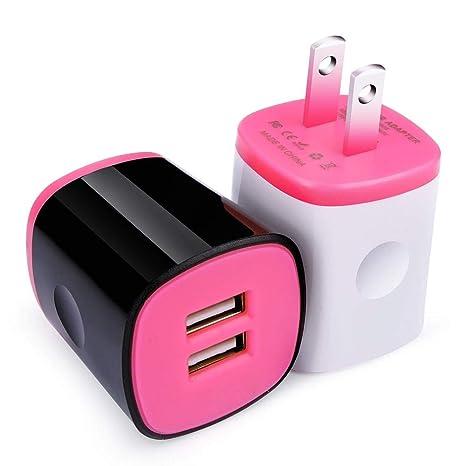 Amazon.com: Cebkit - Cargador de pared USB para iPhone X, 8 ...