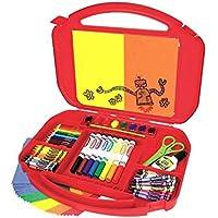 Crayola Estuche de artes con caballete (los colores pueden variar), (04-5674)