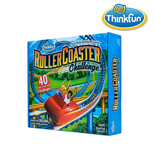 513TUHBZLGL - ThinkFun Roller Coaster Challenge STEM Toy and Building Game for Boys and Girls Age 6 and Up – TOTY Game of the Year Finalist