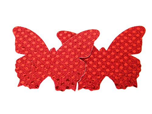 Sexy Satins Disposable Pasties Nipple Cover Sticker Lingerie Pasties (1pair bug) (Fashion Bug Plus Size)