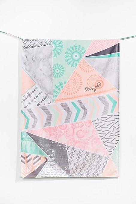 Desigual Towel Shower Nordic Mood toalla de ducha rectangular algodón Pastel 95 x 150 cm