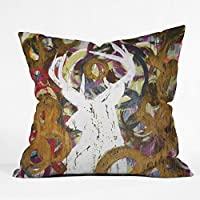 Deny Designs Kent Youngstrom Deer Throw Pillow, 26 x 26