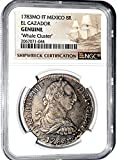 1783 MX 8 Reales MO FF El Cazador Shipwreck Coin,NGC Certified 2067071044 Real Genuine NGC