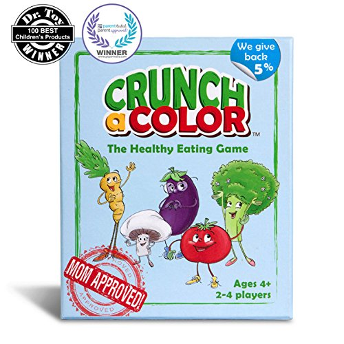 - Crunch a Color: The Healthy Eating Game for Kids