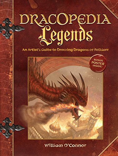 Dracopedia Legends: An Artist's Guide to Drawing Dragons of Folklore (English Edition)