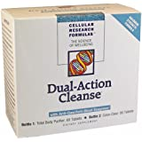 Cellular Research Formulas - Dual-Action Cleanse - 60 Tabs Total Body Purifier + 90 Tabs Colon Clear