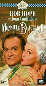 Monsieur Beaucaire [USA] [VHS]: Amazon.es: Bob Hope, Joan