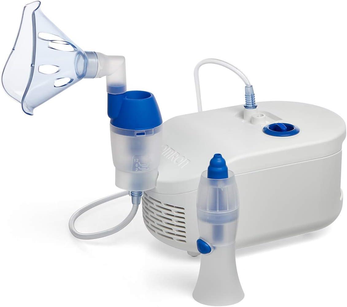 OMRON C102 - Nebulizador Compresor con Aspirador Nasal para Niños ...