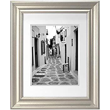 Amazoncom Americanflat 11x14 Silver Picture Frame Display