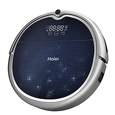 Haier Robot Vacuum Cleaner Floor Cleaner with Self Charging and Wet Mop with Remote Control