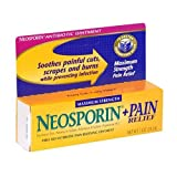 Neosporin Plus Pain Relief First Aid Antibiotic/Pain Relieving Ointment, Maximum Strength, 1-Ounce Tube,