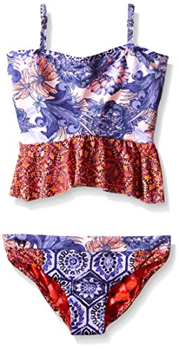 Maaji Toddler Girls The Grapeful Miles Slug Bug Girls One Piece Swimsuit, Multi, 2