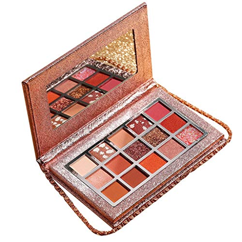 Londony Eyeshadow Palette Makeup+Matte Shimmer 15 Colors+ Highly Pigmented+Professional Nudes Cosmetic Eye Shadows