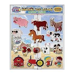 Fantastic Farm Animals Thick Printed Gel...