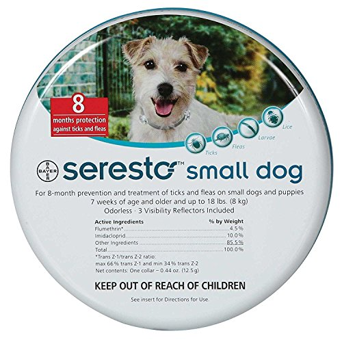 Seresto-Dog-Flea-and-Tick-Collar-SMALL-DOGS-UNDER-18LBS-by-DavesPestDefense