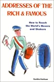 Addresses of the Rich and Famous, Cynthia Mattison, 0966971043