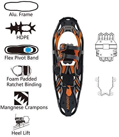 G2 GO2GETHER Snowshoes kit Adventure Adult
