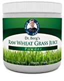 Certified Organic Wheat Grass Juice Powder - Raw & Ultra-Concentrated Nutrients - Rich in Vitamins, Chlorophyll, Trace Minerals & Amino Acids - Gluten Free - Non-GMO - 5.3 oz (Raw Wheat Grass)