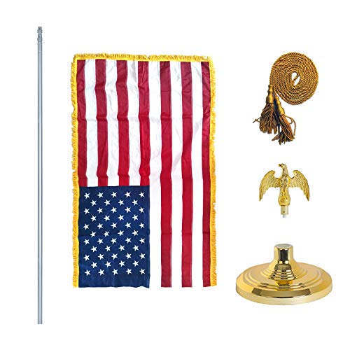 EasyGoProducts EGP-POLE-006 3' X 5' American w/Indoor Pole Kit-with Flag by EasyGoProducts (Image #2)