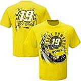 Carl Edwards #19 Stanley NASCAR Adult Speedbolt T-Shirt-Yellow-XXL