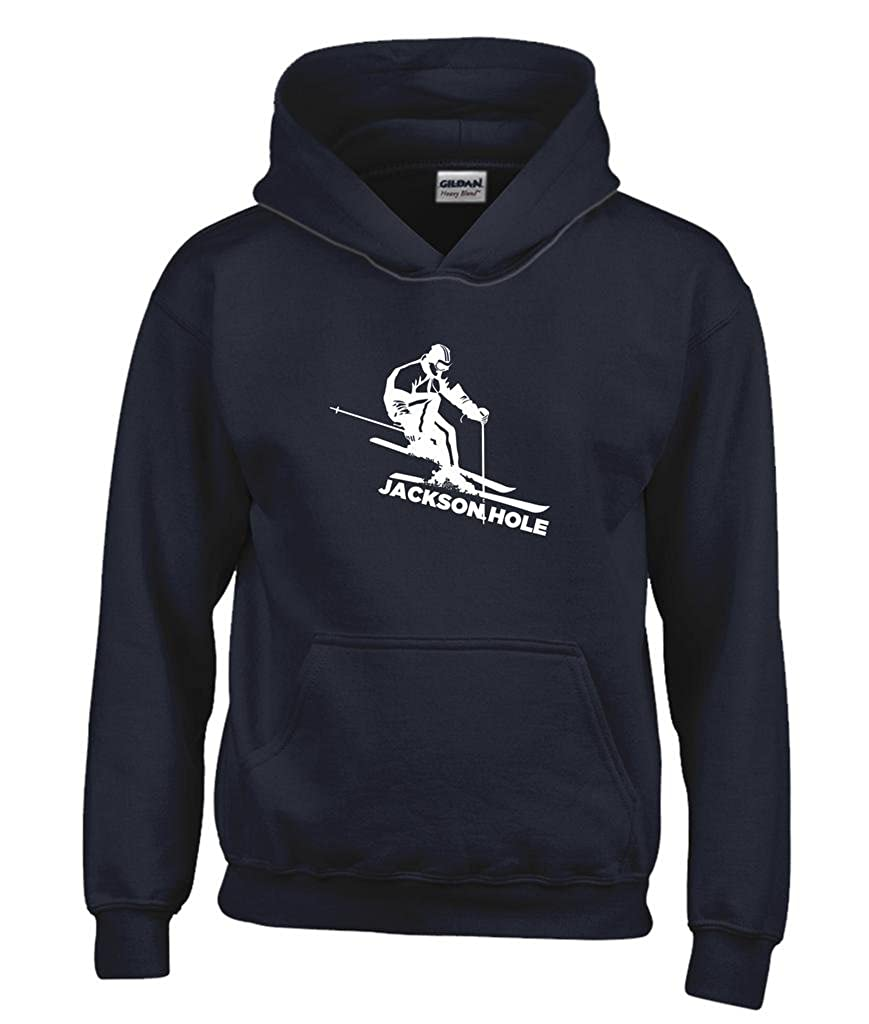 Kids Sweatshirt Utah Snow Skiing Youth Hoodie Park City