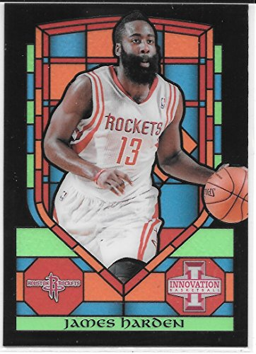 James Harden 2013-14 Panini Innovation Stained Glass Houston Rockets Card #58