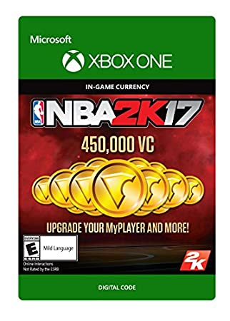 NBA 2K17: 450,000 VC - Xbox One Digital Code