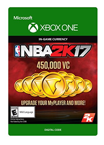 NBA 2K17: 450,000 VC - Xbox One [Digital Code] by 2K Games