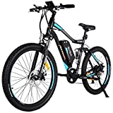 Addmotor HITHOT Electric Bicycles Mountain Full Suspension Electric Bikes...
