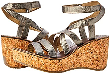 Fly London Womens Gano619fly Ankle Strap Sandals