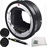 Sigma MC-11 Mount Adapter for Canon EF-Mount Lenses to Sony E Cameras 4PC Accessory Kit. Includes Manufacturer Accessories + Lens Pen + Microfiber Cleaning Cloth
