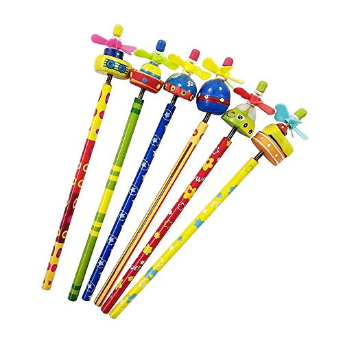 Zoo drum set, Animal drums 24 Pcs/lot Multiple styles Drum Windmill Boat Animal Toy pencil Gifts Wooden Write Supply (UFO)