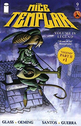 9a Legend - Mice Templar, The (Vol. 4): Legend #9A VF/NM ; Image comic book