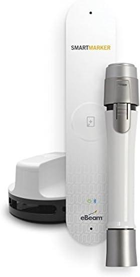 eBeam Smartmarker - Marcador inteligente Luidia, pizarra blanca digital interactiva, sin marcadores especiales, portátil, crea una copia digital de tus notas de pizarra blanca: Amazon.es: Oficina y papelería