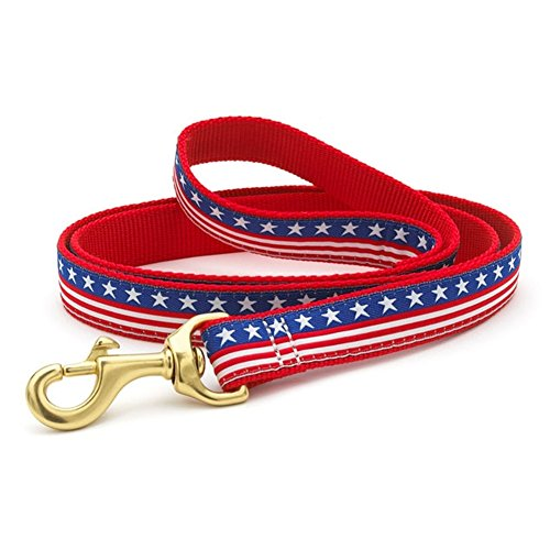 Image of Up Country Dog Lead - Stars and Stripes - 5/8
