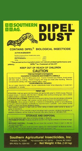Root 98 Warehouse Southern Ag Dipel Dust Biological Insecticide, 25 ()