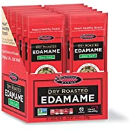 Sea Salt Dry Roasted Edamame, Healthy Snacks, 1.58 oz, 12-Pack