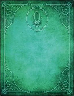 Monogram Jainism Blank Sketchbook: Art Sketch Pad Notebook por N.d. Author Services epub