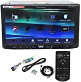 """Pioneer AVH-X4600BT 7"""" Double Din Car Stereo Receiver Bluetooth, Siri """"Eyes-Free"""", APP Radio Mode, Pandora, iPhone/iPod/Android Compatible, USB/AUX Input and Wireless Remote Control"""