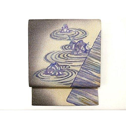 オーバーフロースキル束【未使用品】袋帯 縫取染帯(2600023296350) 中古