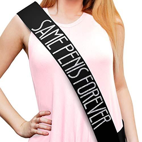 Bachelorette Black Satin Sash - Bachelorette Party Favors, Supplies, Ideas, and - Favor Sash