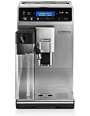 De'Longhi Autentica Cappuccino ETAM 29.660.SB - Cafetera Superautomática, 1450 W, Sistema Lattecrema, Variedad de Recetas Automáticas, Pantalla LCD de Texto y Panel Táctil, Plateada