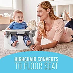 Graco Floor2Table 7 in 1 High Chair   Converts to an Infant Floor Seat, Booster Seat, Kids Table and More, Atwood