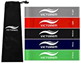#10: Victorem Mini Loop Resistance Bands –Exercise, Physical Fitness, Home Workout Training Set – CrossFit, Exercise, Fitness – Stretching, Mobility, & Physical Therapy Workout - Booty Bands