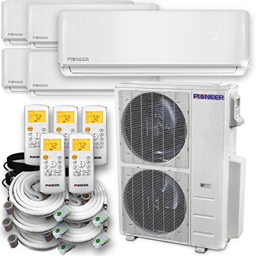 PIONEER Air Conditioner Pioneer Multi Split Heat Pump Quint (5 Zone) ()